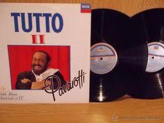 LUCIANO PAVAROTTI. TUTTO II. DOBLE LP / DECCA - 1991. BUENA CALIDAD. ***/***