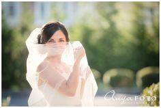 Bridal veil - AnyaFoto - NJ Wedding Photography