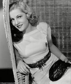 Joan Fontaine, pictured in 1936, was one of Alfred Hitchcock's famed blondes and the only actor to ever win an Oscar for one of his movies