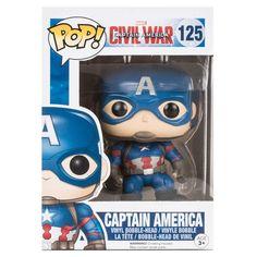 Funko Pop - Civil War - Captain America