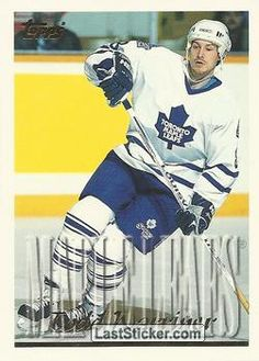 TODD WARRINER 1995-96 TORONTO MAPLE LEAFS Topps NHL Hockey 1995-1996 - Collection preview - laststicker.com Types Of Penguins, Florida Panthers, New York Islanders, New Jersey Devils, Tampa Bay Lightning, Los Angeles Kings, San Jose Sharks, Philadelphia Flyers, Toronto Maple Leafs