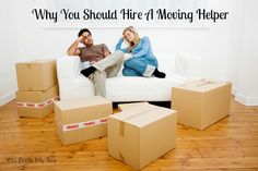 Moving Helper for your next move is a great investment! Don't miss our reasons You Should Hire A Moving Helper For Your Next Move!