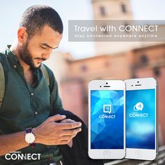 #Travel with the CONNECT mobile apps! stay connected with friends and family anywhere anytime Download and Learn more at netTALKCONNECT.com #mobileApps