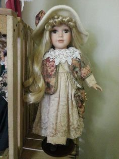 Beautiful Porcelain Doll Collectable