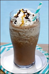 HG's Choco-Chip-Happy Frappé