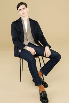 Paul Smith London Autumn/Winter 2015-16 collection. Model: Anders Hayward