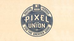Pixel Union. See more great examples of type in logo design here: http://www.creativebloq.com/typography/typography-logotype-1012978