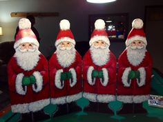 Santa Claus fireplace screens are custom made and can be ordered for Christmas 2012. Four Santa