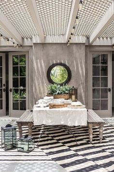 Apparently,+This+Is+the+Biggest+Patio+Décor+Trend+for+Spring—and+It's+SO+Chic+via+@MyDomaine
