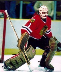 Warren Skorodenski Hockey Goalie, Ice Hockey, Hockey Cards, Baseball Cards, Nhl, Hockey Room, Hockey Rules, Goalie Mask, Masked Man