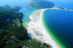Islas cies. Pontevedra.  Lugo