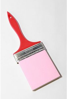 Paint brush memo pad from Urban Outfitters