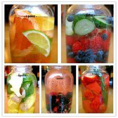 yummy fruit waters