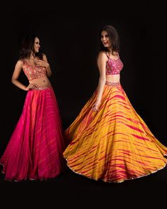 Mrunalini Rao's latest lehengas will make you feel like a princess Indian Bridal Outfits, Indian Fashion Dresses, Dress Indian Style, Indian Designer Outfits, Indian Wear, Lehnga Dress, Lehenga Blouse, Lehenga Skirt, Anarkali