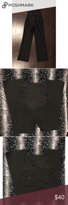 """Loft Maternity Full Panel trouser Pants Excellent quality full panel trouser pants that's great for work. Length is about 39.5"""" long and leg opening is about 10""""wide. It's still in good condition and many more wears to go. I don't negotiate through comments but open to offers through the offer button LOFT Pants Trousers"""