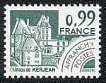 Château de Kerjean - Saint-Vougay - Timbre de 1980