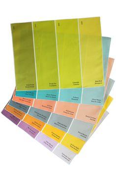 Paint Chip Placemats 6