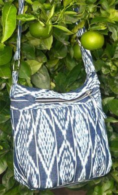 Handwoven Jaspe (Guatemalan Ikat) Bag **Altiplano