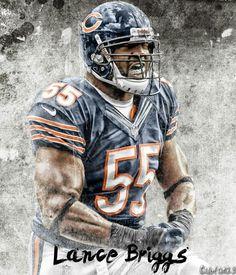 Lance Briggs #Footballfortheladies #DaBears