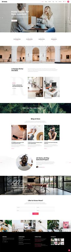 Get your business in front of your audience using this stunning WordPress theme. Web Design Trends, Ui Design, Branding Design, Simple Wordpress Themes, All Themes, Application Design, Business Presentation, Start Up Business, Design Agency
