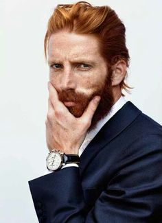 Ginger Beard for the oldest Kent, Captain Daniel Kent, who is also a carbon copy of the brothers' father, Alexander.