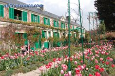 Monet's house and gardens from Giverny,France http://allonfrance.com/visit-to-monetss-house-and-gardens/