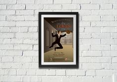 Kettle Fire Creative, She Loves Me, poster, musical, theater, theatre, Drury, university, play, acting, jumping, hat, suit, geometric person