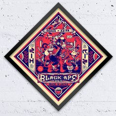 Black Ape - DXTR  Piece created for the Artist Beer Visions (ABV) exhibition presented by 3rd Rail.  20 illustrators and designers were invited to create a label for a fictitious beer of their invention. These works were displayed as large format screen prints at 71A Gallery where you could buy a beer brewed especially for the show by Peoples Park Tavern.