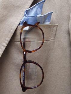 MORGENTHAL-FREDERICS glasses frames menswear pocket square
