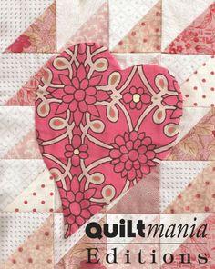 Bloc 4 - Block 4  Découvrez ce bloc GRATUIT avec son patron sur Quiltmania.fr. Let's discover this FREE block (and its pattern) on quiltmania.com