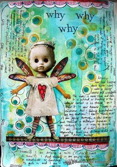 Art journal - Dreaming Again by thekathrynwheel, via Flickr