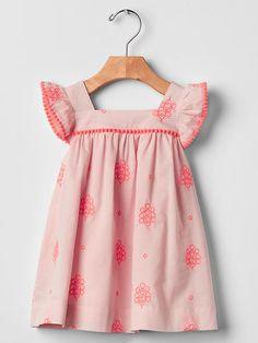 Pom-pom flutter dress Product Image