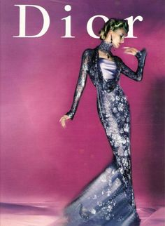 Esther De Jong for Christian Dior, late 90s