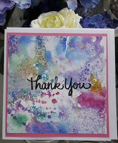 Fasters korthus: Thank you cards