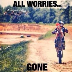 Yup pretty much, I don't know why but riding has always relaxed me and calmed me down, but still gets me excited