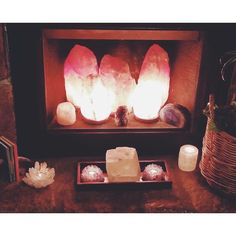 "1,125 Likes, 27 Comments - Earthbound Trading Company (@earthboundtrading) on Instagram: ""Manager Kelly from our #sooner location has made an inviting #sacredspace by adding salt stone…"""