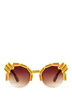 Gasoline Glamour Hot Dog Shades - Nastygal