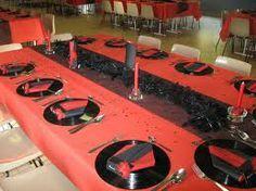 déco table rouge et noir - Recherche Google