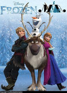 *KRISTOFF, OLAF, SVEN & PRINCESS ANNA ~ Frozen, 2013