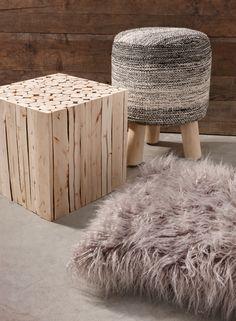 Steiger)hout is stoer! Laat het kleurenpallet in huis ook terugkomen ...