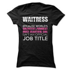 Awesome Waitress T-Shirts, Hoodies. SHOPPING NOW ==► https://www.sunfrog.com/Funny/Awesome-Waitress-Shirt-yry5.html?id=41382