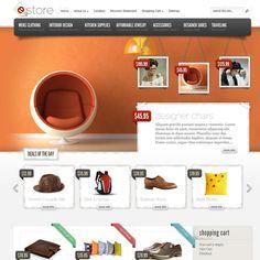eStore eCommerce WordPress Theme | Best WordPress Themes 2013
