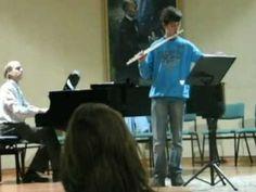 20120503 Sonata en G major CPE Bach Flute Manu