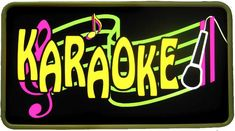 I grew up singing Karaoke.  I still love it.. I am like one of the bad singers in American Idol.. but that shouldn't stop me from singing in the shower, just have to spare everyone the pain.