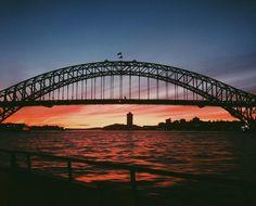 Sydney harbour bridge in all her glory two years ago to the day!  #Vsco #Sydney #VscoCam #SydneyHarbourBridge #Sunset #Throwback by zenkilic http://ift.tt/1NRMbNv