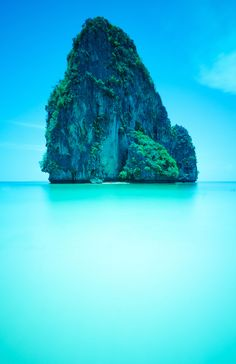 Railay Beach, Thailand. One of my favorite spots in the country--I could spend weeks on that beach.