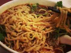 """The Szechuan beef noodle soup was so tasty and spicy!"" Spices 3 Restaurants Oakland, California, United States"