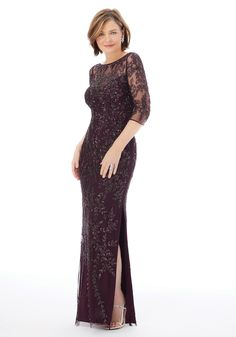 25720 Mother of the Bride by MGNY is available in eggplant or navy! Try this beauty on at Aurora Bridal in Melbourne, FL 321-254-3880 Evening Gowns Couture, Evening Dresses, Mori Lee, Bride Gowns, Yes To The Dress, Pageant Dresses, Stunning Dresses, Formal Gowns, Mother Of The Bride