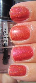 My Nail Polish Obsession: OPI DS Couture comparison