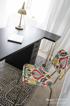super easy ikea desk hack amazing look for cheap office desksoffice spaceshome officeikea ideasdesk chairdiy